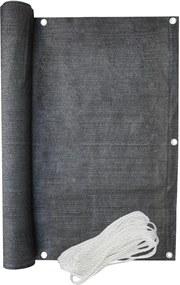 Bestent Balkónová zástena 1x5m 90% Balcone Dark Grey