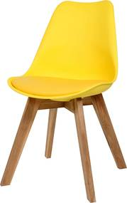 Bighome - Stolička VOLADO - žltá