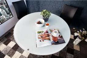Jedálenský sklenený stôl Ø100cm 35610-Komfort-nábytok