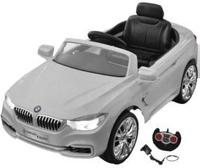 Biele autíčko BMW na batériu s diaľkovým ovládačom