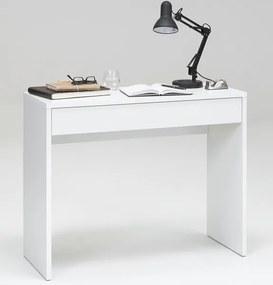 Písací/kozmetický stôl Checker, biely