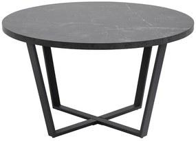 Amble konferenčný stolík R77 čierny melír