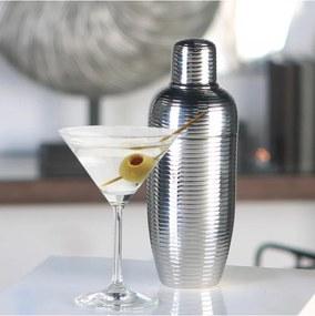 Kokteilový šejker nerezový Galano, 22 cm, nerez