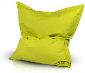 Ecopuf Sedací vankúš Ecopuf - Pillow L polyester NC1 - Svetlo zelená