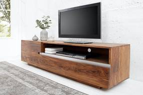 Luxusný TV stolík Flame z masívu