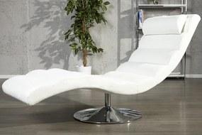 Kreslo Relax biele