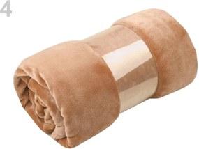Pohodlná deka coral fleece 150x200 cm Varianta: 4