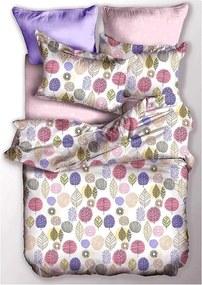 Obliečky z mikrovlákna na jednolôžko DecoKing Basic Pumpkin, 135 × 200 cm
