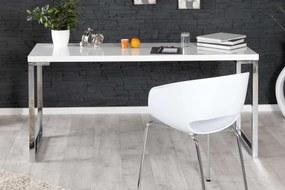 Písací stôl Office IV biely