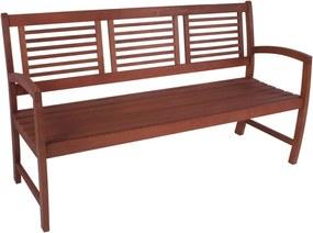 Záhradná lavica z eukalyptového dreva ADDU Madison