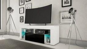 MEBLINE Komoda RTV 1SZ HUGO BLACK