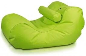 Ecopuf Sedací vak Ecopuf - HOGAN - polyester NC1 - Svetlo zelená