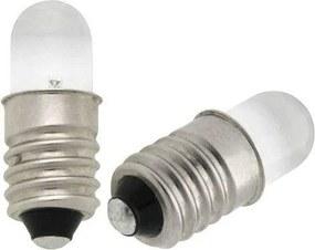 Žiarovka LED E10 studená biela 0 0b9c827388