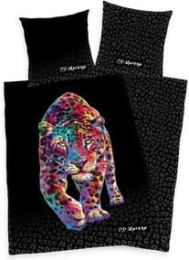 HERDING Satenové obliečky Leopard P.D. Moreno Bavlna - Satén, 140/200, 70/90 cm