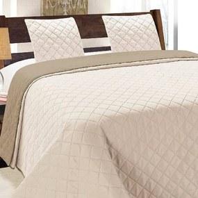 HOD (D) Prehoz na posteľ VIGO Cappuccino 220x240cm