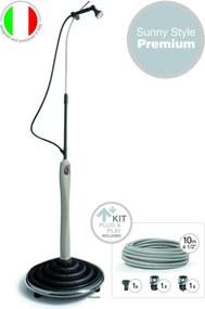 Hanscraft Solárna sprcha Sunny Style Premium Šedá