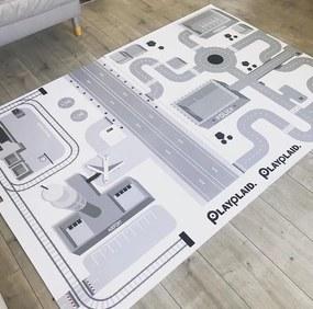 Set hracích podložiek PLAYPLAID Mesto & Letisko