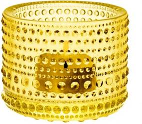 Svietnik Kastehelmi, žltý Iittala