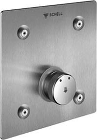 Schell - podomietková sprchová batéria so zmiešavaním pre Masterbox, nerez 019022899
