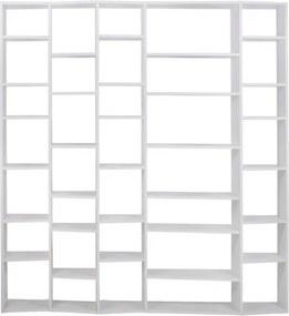 Designová knihovna Ramiro V., matná bílá 9500.316609 Porto Deco