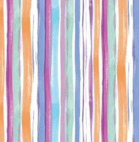 Samolepiace fólie 13778,  pruhy farevné, rozmer 45 cm x 15 m, Gekkofix