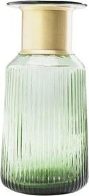 Svetlozelená váza Kare Design Barfly Green, 30 cm
