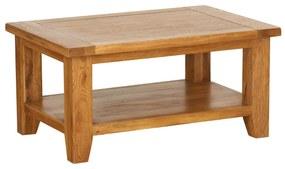 Konferenčný stolík s poličkou 915x610x500