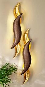LED dekorácie Zlatá vlna