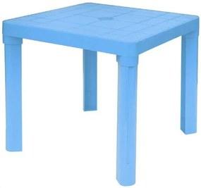 Plastový detský stôl, modrá