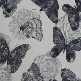 TEMPO KONDELA Charlot kreslo butterfly 1