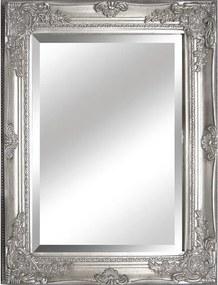 TEMPO KONDELA Malkia Typ 6 zrkadlo na stenu strieborná