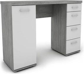 Sconto Písací stôl JOKER 32 biela/betón