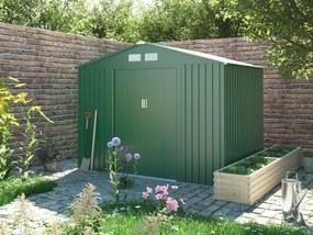G21 Záhradný domček GAH 429 - 251 x 171 cm, zelený