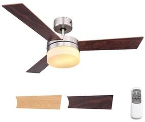 Globo 0333 - Stropný ventilátor ALANA 2xE14/40W/230V