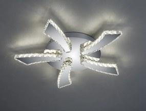 Trio PHIN R62485106 Stropné Svietidlá chróm kov incl. 1 x SMD, 30W, 3000+4500+6500K, 3000Lm 3000lm IP20 A
