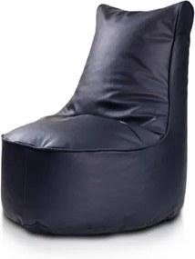 Sedací vak ECOPUF - SEAT L - ekokoža Biela