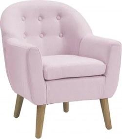 Bighome - Kreslo Pink - ružová