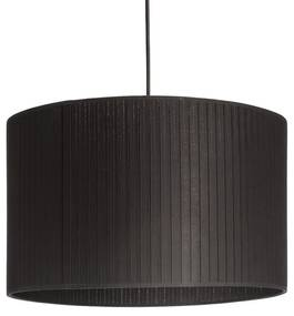 RENDL R11389 RON tienidlo na lampu, univerzálne tienidlá Plissé čierna