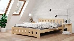 LUX 180x200 manželská posteľ Natural