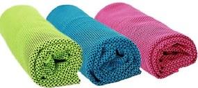 Slevnuj Chladiaci uterák - Stačí namočiť, vyžmýkať a napnúť, zelená