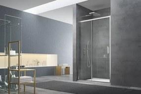 Sprchové dvere 120x195 cm Swiss Aqua Technologies TEX chróm lesklý SIKOTEXD120CRT