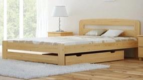MAXI-DREW postel Eureka 180 x 200 cm - masiv borovice