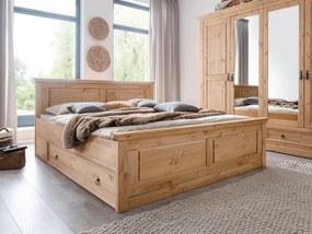 Bighome - SYDNEY Úložný priestor pod posteľ, borovica
