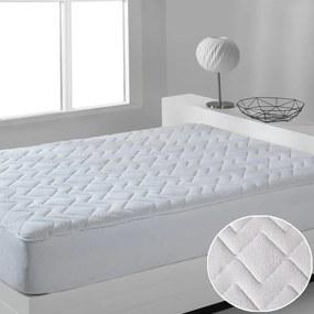 Prešívaný vodeodolný froté matracový chránič Violeta 90 x 200 cm