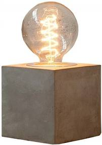 Stolní lampa Brutto, krychle, beton Sin:37692 CULTY HOME +