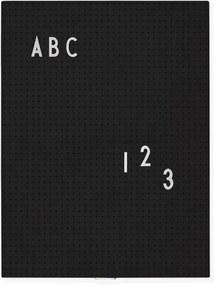 Design Letters Tabuľa Message Board A4, black