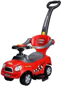 ECOTOYS Detské odrážadlo autíčko červené