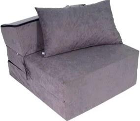 Praktické rozkladacie kreslo na spanie Comfort 11 Fialová