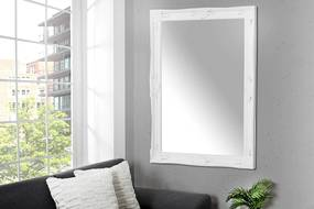 Zrkadlo Reincarnation biele 105cm