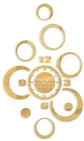 Mazur 3D nalepovacie hodiny Alladyn zlaté